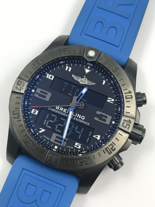 46MM BREITLING EXOSPACE B55 NIGHT MISSION REF.: VB5510 FULL SET AUS 6/2016 - SMARTWATCH