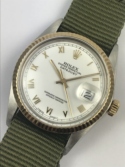 VINTAGE ROLEX DATEJUST REF: 16013 FULL SET VON 1988