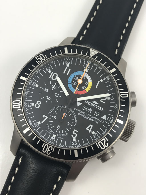 FORTIS ISS SPACE STATION B 42 TITAN LIMITIERTER CHRONOGRAPH REF: 638.27.141