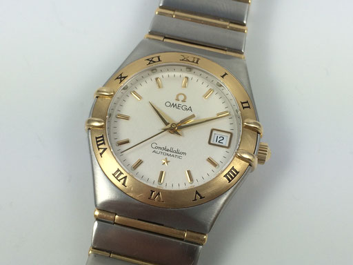Omega Constellation Automatik Stahl/Gold