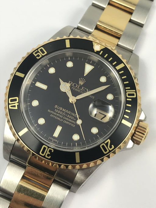 ROLEX SUBMARINER REF:16613 USERIE VON 1998