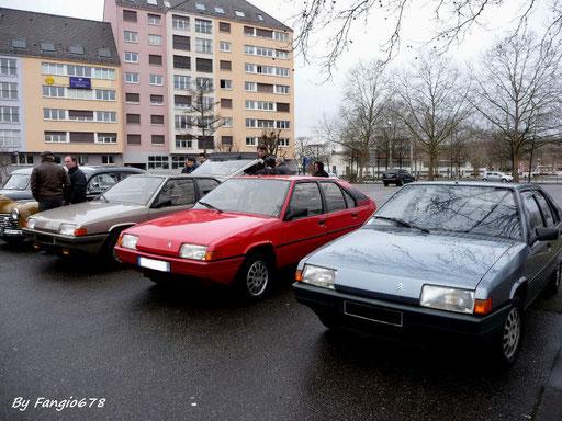 Citroën BX 1.4 RE, 1.6 TRS, 1.9 GT