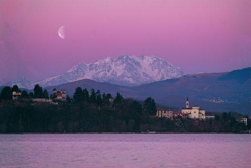 Vareser See und Monte Rosa-Italien