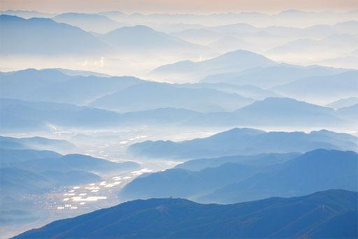 Blick vom Mount Gaya-Korea