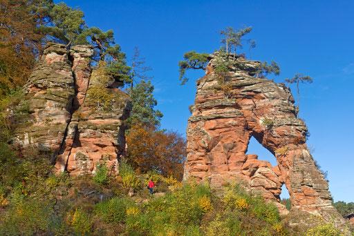 Schillerfelsen bei Dahn-Pfälzer Wald