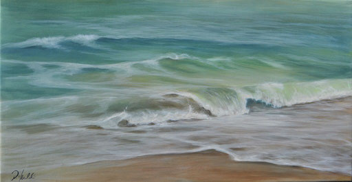 Wellenrauschen 95 x 50 cm