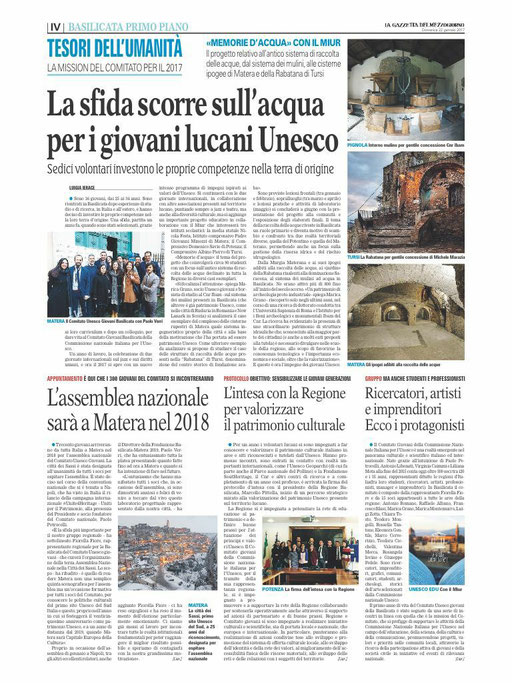 La Gazzetta del Mezzogiorno, 22 gennaio 2017