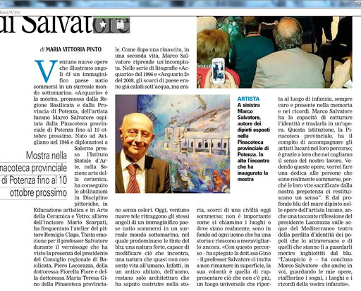 La Gazzetta del Mezzogiorno, 14 settembre 2015