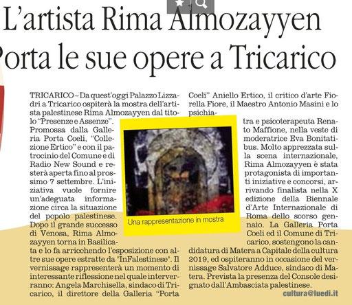 Il Quotidiano della Basilicata 30 agosto 2014