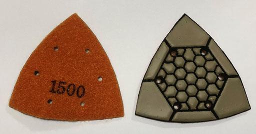 三角レジンパッド #1500