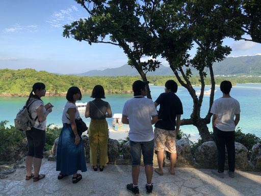 Lab trip 2018 @ Kabira bay, Ishigaki island