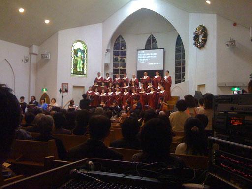 大阪府八尾市にあるキリスト教会。年末の恒例行事、日本語で歌うヘンデルのメサイアコンサート。ご依頼いただきレコーディング!