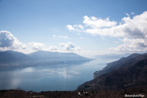 Dal monte Carza sopra Cannero