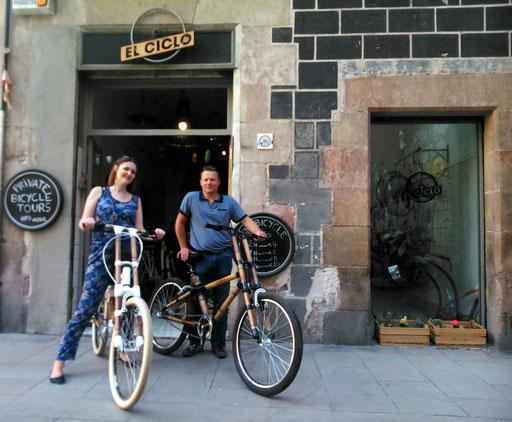 Bamboo Bike Tour at El Ciclo, Barcelona