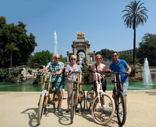 Bamboo Bike Tour at Ciutadella Parc, Barcelona