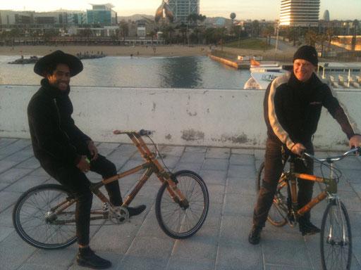 Bamboo Bike Tour at the Barcelona Port