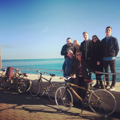 Bamboo Bike Tour at the Barceloneta Beach and Hotel W, Barcelona