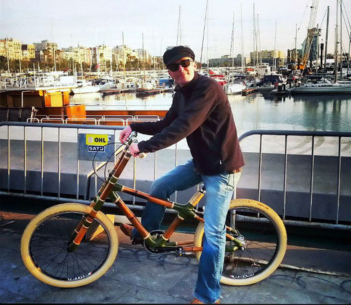 Bamboo Bike Tour at the Barcelona Port