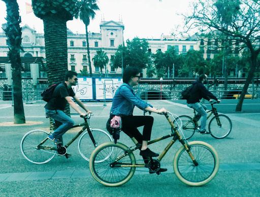 Bamboo Bike Tour at the Port Vell, Barcelona