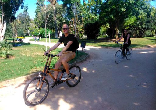 Bamboo Bike Tour at Ciutadella Parc, Barcelona