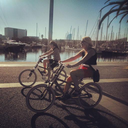 Bamboo Bike Tour at Port Vell/Moll de la Fusta, Barcelona