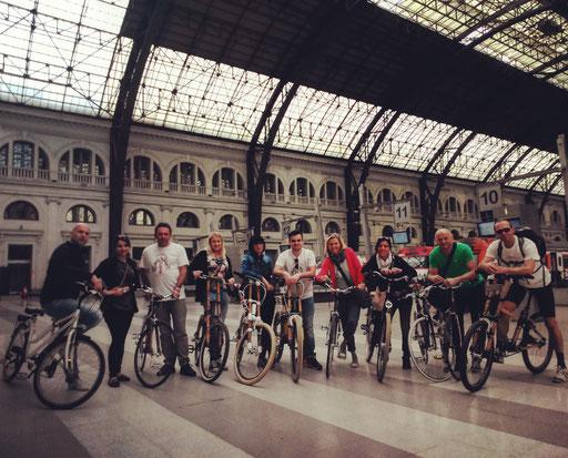 Bamboo Bike Tour at the Estació de França, Barcelona