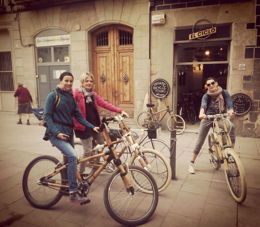 Bamboo Bike Tour at El Ciclo, Barcelona