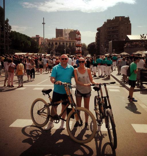 Bamboo Bike Tour at La Sagrada Familia, Barcelona