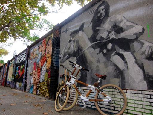 Barcelona Street Art Tour by Bamboo Bike Tours