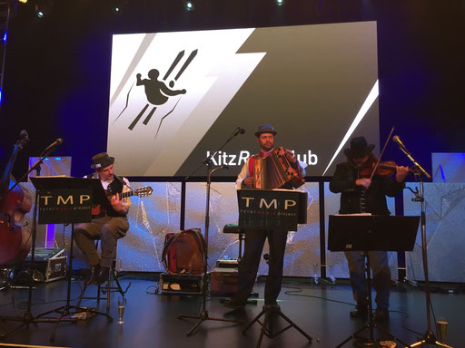 Kitz Raceclub 2017 - Bühnendeko - Acrylglas+Eis