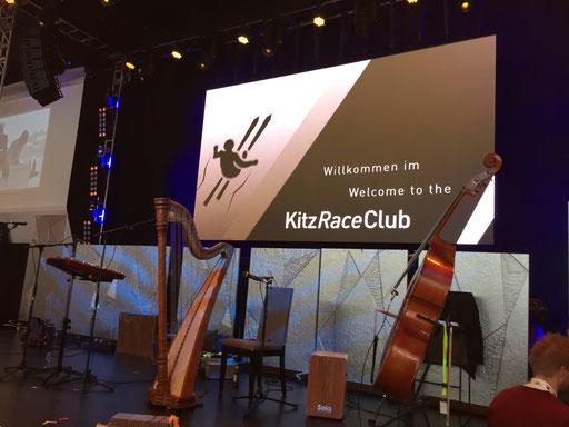 Kitz Raceclub 2017 - Bühnendeko im Eiseffekt 13 - Kunsteis