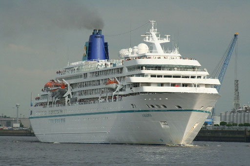 MS Amadea in Hamburg 2009