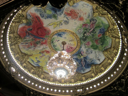 オペラ座の天井 シャガール