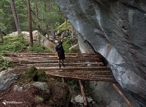 Die grösste Landung im Wald - Magic Wood/Avers