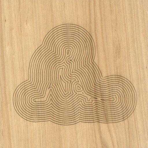W3L4Y17S900 (2), marine plywood, 2017, 30x30cm