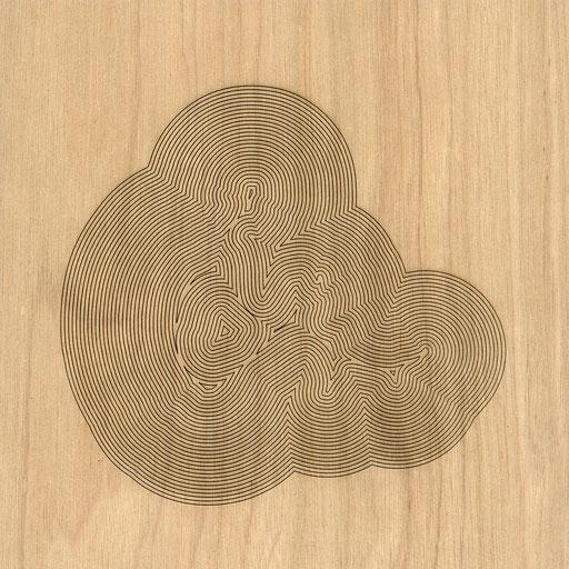 W3L2Y17S900 (2), marine plywood, 2017, 30x30cm