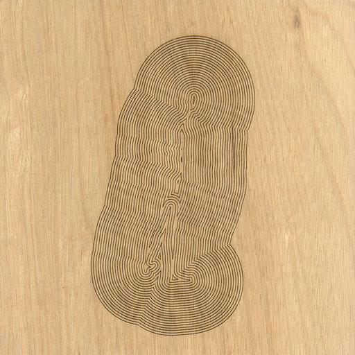 W3L2Y17S900 (1), marine plywood, 2017, 30x30cm