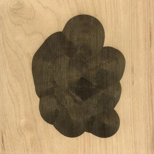 W3L05Y17S900 (2), marine plywood, 2017, 30x30cm