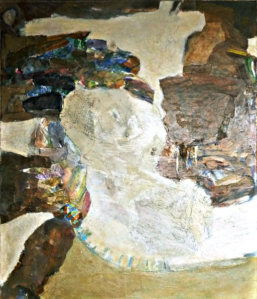 Collage, 100 x 85, 2009
