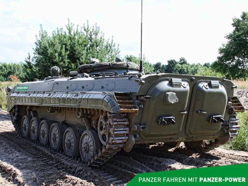BMP-1 Panzer Heckansicht