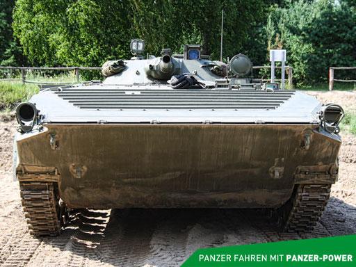 BMP-1 Panzer Frontansicht