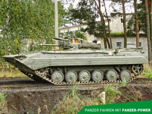 BMP-1 Panzer Seitenansicht