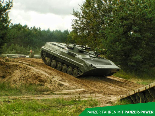 BMP-1 Panzer auf dem Tag der Technik Show