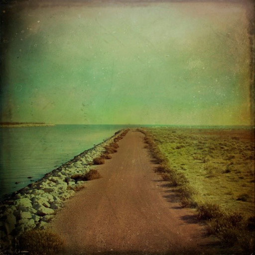 Canvas Print, The end of the road