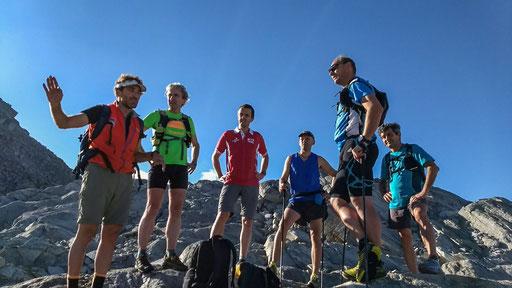 Briefing a 2.900 mt per coordinare atleti e operatori