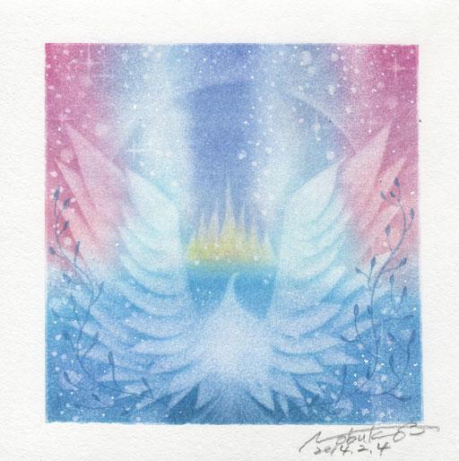 両翼の羽根
