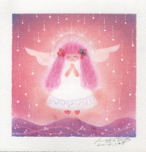 天使画/ゆるかわ天使さん