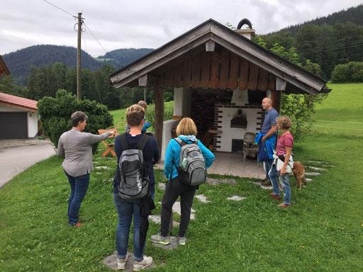 Hofführung - Der Holzbackofen