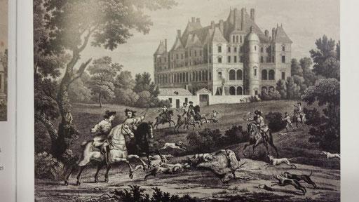 Château dit de Madrid à Neuilly sur Seine.