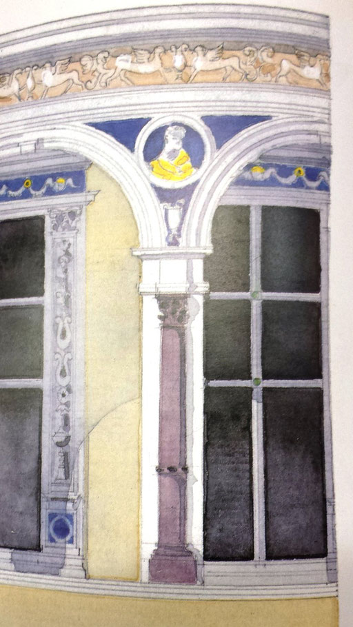 Château dit de Madrid à Neuilly sur Seine. Recherches documentaires: Bibliothéque du Musée de la Renaissance d'Ecouen.  Hervé Arnoul